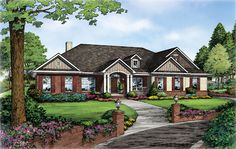 The Longview B House Plan for Anderson SC.