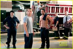 Taylor Kinney  Jesse Spencer: Shirtless for 'Chicago Fire'!