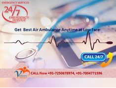 If your patients are in critical condition then you can take the bed to bed shifting service from any hospital in the country with the help of Vedanta Air Ambulance. This is now available at a very low cost and has emergency services available in every major city in India. Web@ https://goo.gl/9Y2C5o More@ https://goo.gl/Pke64U