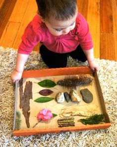 Laughing Kids Learn: DIY Nature Sensory Board ≈≈