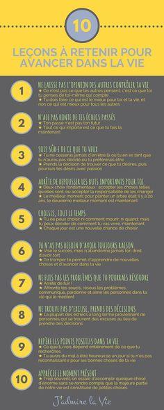 Infographie : 10 leç