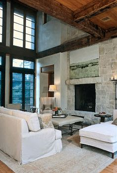 LOVE WHERE YOU LIVE: This Limestone Home is My Inspiration House
