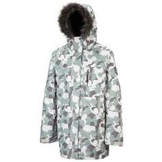 Tog 24 White camo igloo milatex ski jacket- at Debenhams. White Camo, Skiing, Raincoat, Debenhams, Jackets, Fashion, Ski, Rain Gear, Down Jackets