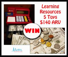This great giveaway is Sponsored by Learning Resources. Hosted by Mom Does Reviews Watching your children learn new things can be so exciting for a parent. Although, trying to teach them can often be difficult. Learning Resources has brought fun to the...