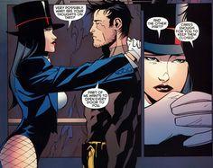 Zatanna and Batman