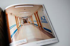 A new wayfinding system for Gjøvik hospital, created together with fellow students Torbjørn Sandbakk, Ingrid Vaterland and Thor Johannes Wang. Hospital Signage, Behance