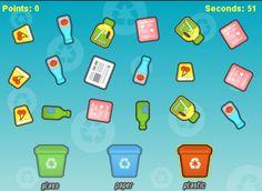 Μαγικό Καπέλο: ΑΝΑΚΥΚΛΩΣΗ - ΠΑΙΧΝΙΔΙΑ ΣΤΟΝ Η/Υ Preschool Activities, Recycling, Paper, Upcycle