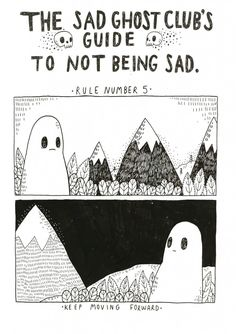 The Sad Ghost Club's Guide to Not Being Sad (8 Pics) | Pleated-Jeans.com