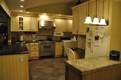 Painting Knotty Pine Kitchen Cabinets | Painted Cabinets