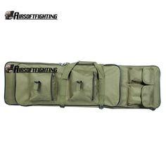 """39"""" Tactical Rifle Shotgun Pistol Gun Case Fishing Backpack  Shoulder Strap OD"""