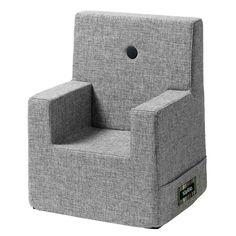 By Klip Klap KK Kids Chair XL Multigrå m. Grå Knap