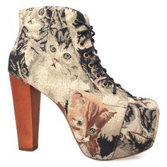 cat-shoes. I need these in my life. so tacky but the good kind of tacky<3