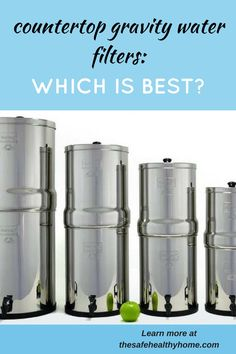 Here's everything you need to know to choose the best gravity water filter for you and your family. Read this detailed comparison of 5 popular water filter systems: Berkey, Propur, Alexapure, AquaRain, and Zen Water.