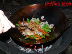 Stir Fry on The Big Green Egg
