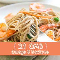 21 OMG Omega-3 Recipes