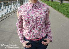 koszula / shirt - Tommy Hilfiger (second hand + alternation / przeróbka); pasek / belt - NN (second hand)