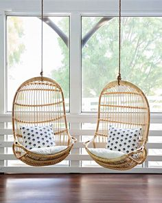Check out the Hanging Rattan Chair and the rest of our unique Chairs at Serena and Lily. Egg Swing Chair, Hanging Egg Chair, Swinging Chair, Swing Chairs, Hanging Beds, Lounge Chairs, Office Chairs, Room Swing, Balcony Chairs