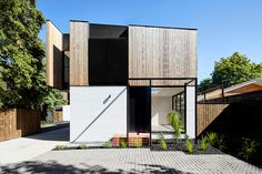 Adaptive reuse of a set of 1960s Melbourne townhouses | Architecture & Design