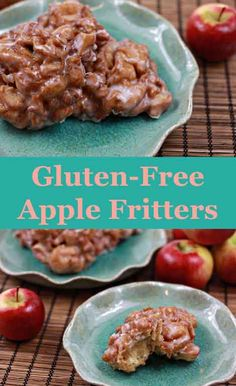 Apple Fritters are our favorite fall must-have, and no one should have to miss out on this delicious dessert just because they can't have gluten. This recipe is 100% gluten-free and just as tasty.