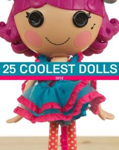 Great guide for finding the best dolls for your kids this Christmas.