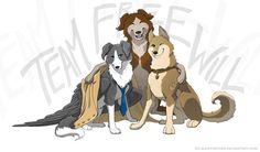 Supernatural Dogs | Supernatural dogs by Alex-Panther on DeviantArt