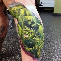 100 Incredible Hulk Tattoos For Men - Gallant Green Design Ideas Hulk Tattoo, Comic Tattoo, Hulk Marvel, Avengers, Marvel Tattoos, Red Hulk, Superhero Design, Incredible Hulk, Tattoos For Guys