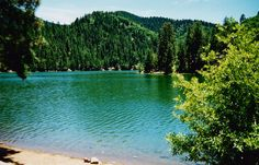 Bonito Lake in Ruidoso,NM....went here w Arthur a few times...caught the limit every time
