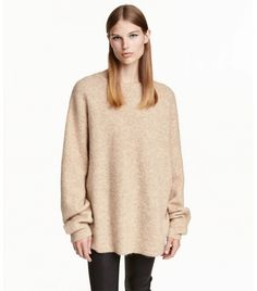 H&M Oversized Mohair-Blend Sweater