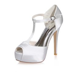 Women's Wedding Shoes Peep Toe Sandals Wedding / Party