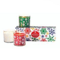 Reminiscent Scented Jars Iced Snowberries, Crimson Berries, Emerald Balsam www.partylite.biz/stephaniejoana