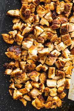 The Best Grilled Chicken For Tacos, Burritos, or Salads Charred and Tender grilled chicken spiced with a special blend of homemade taco seasoning can be grilled or cooked on the stove-top. It& delicious in tacos, Grilling Recipes, Cooking Recipes, Healthy Recipes, Cooking Ribs, Freezer Recipes, Cooking 101, Kraft Recipes, Freezer Cooking, Barbecue Recipes