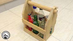 Comment construire une caisse en bois pour transporter les bouteilles - DIY