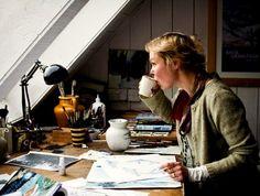 "The ""art"" of life. Creative, studio, desk. ✧✧ B e l l a M o n t r e a l ✧✧"