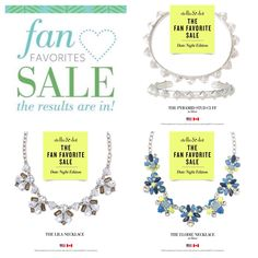 Stella and dot Flash Sale | 2 days only - while supplies last.  Click pic to shop now