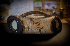 "RoxBox - ""Son of a birch"" - bluetooth speakers/amplifier/power bank"