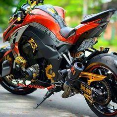 Kawasaki Orange Wallpapers) – Free Backgrounds and Wallpapers Custom Street Bikes, Custom Sport Bikes, Moto Bike, Motorcycle Bike, Kawasaki Bikes, Z 1000, Futuristic Motorcycle, Sportbikes, Cool Motorcycles