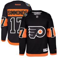 Wayne Simmonds Philadelphia Flyers Reebok 2017 Stadium Series Player  Premier Jersey - Black 90e7c47a1