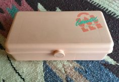 Vintage 80's Caboodles of California Mini Pink Make-Up Case, Storage 290701 #Caboodles