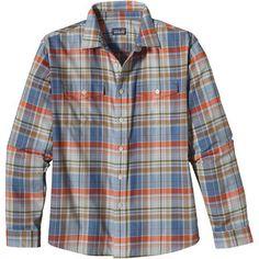 Plaid-Plaid-Plaid!!!  Long-Sleeved Buckshot Shirt (Men's) #Patagonia at RockCreek.com