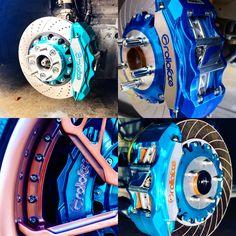 Blue Squad  Brakes: @rolloface  #brakes  #bbk  #bigbrakekit  #rolloface  #jdm  #supreme  #amazing  #japan  #carlifestyle Custom Wheels, Custom Cars, Funny Car Memes, Rims For Cars, Car Gadgets, Car Mods, Car Storage, Car Tuning, Car Painting