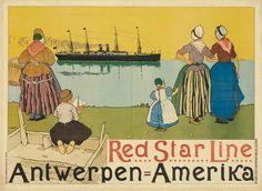 HENRI CASSIERS RED STAR LINE / ANTWERP