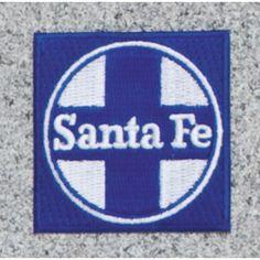 Santa Fe Railroad Logo Patch