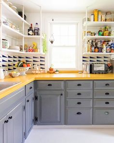 A single gallon of paint is enough to transform your kitchen cabinets, make over an armoire, or add style to an entire staircase.