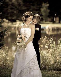 bride and groom sweet
