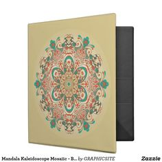 Mandala Kaleidoscope Mosaiic - Binder