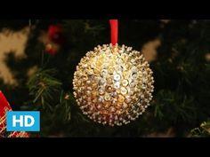 Brincando de Fazer Arte: Bolas de Natal - Especial Natal- - YouTube