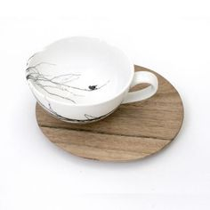 Love Milo Cappuccino Cup & Saucer – Tree from Love Milo Homeware - R220…
