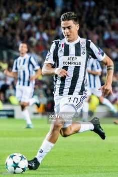 Paulo Dybala of Juventus in action during the UEFA Champions League 2017-18 match between FC Barcelona and Juventus at Camp Nou on 12 September 2017 in Barcelona, Spain.