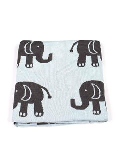 This beautiful baby's blanket is the work of a Melbourne based company that designs with a contemporary twist. Depicting a cuddly elephant, perfect gift for a baby.