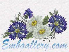 """""""Cornflowers and Daisies"""""""